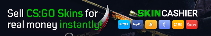 SkinCashier - Sell CS:GO Skins for real money instantly